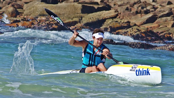 Kayaking at Cape St Francis Resort, South Africa