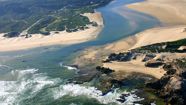 Bushman's Beach at Sibuya Game Reserve, South Africa