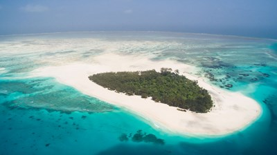 Mnemba Island, Tanzania - View from the sky
