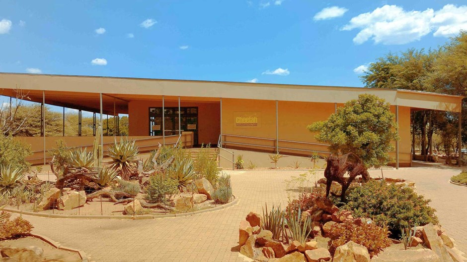The CCF Visitor Centre in Namibia, Courtesy of Cheetah Conservation Fund