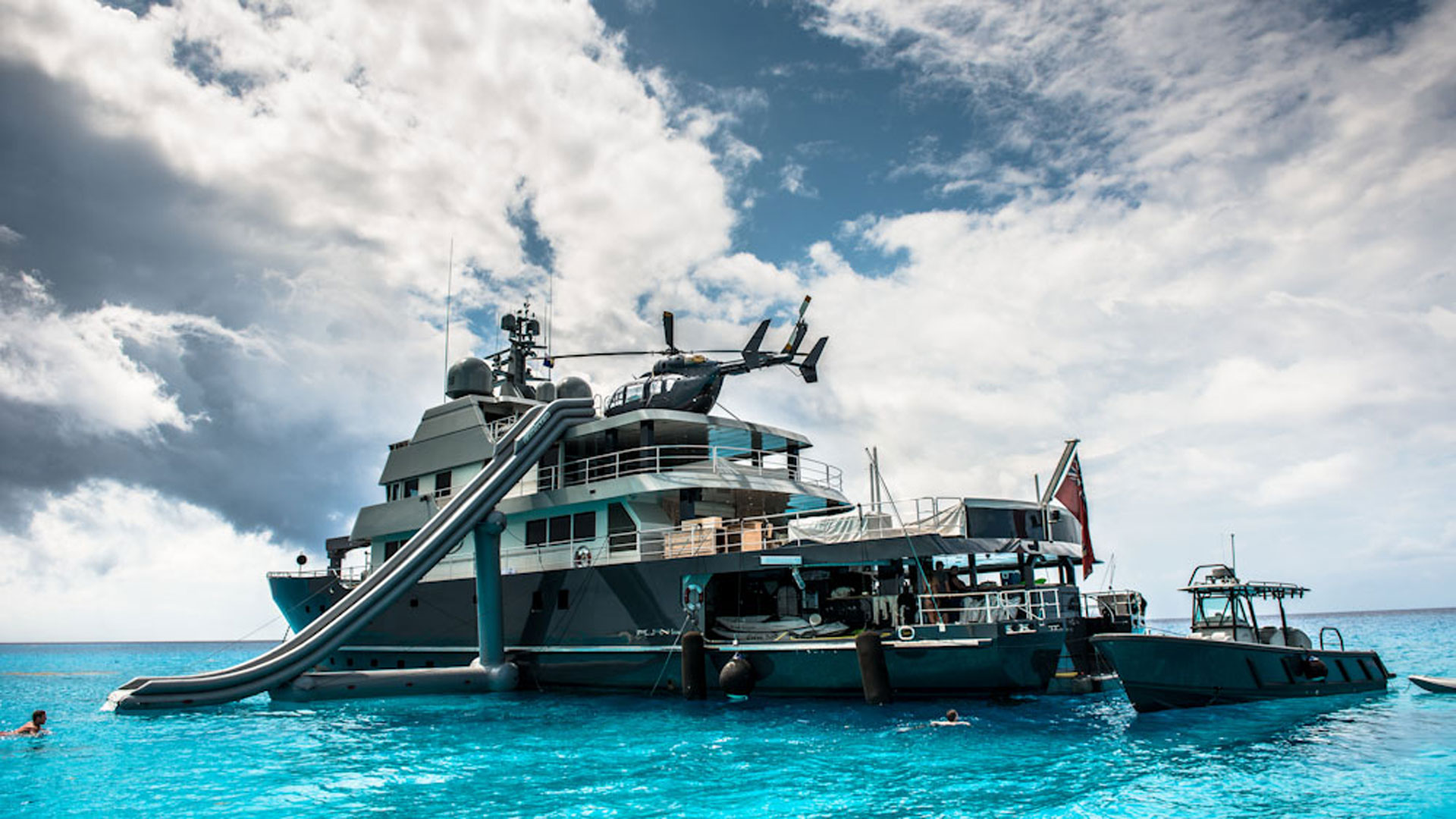 Exterior with Slide out, Plan B Luxury Superyacht