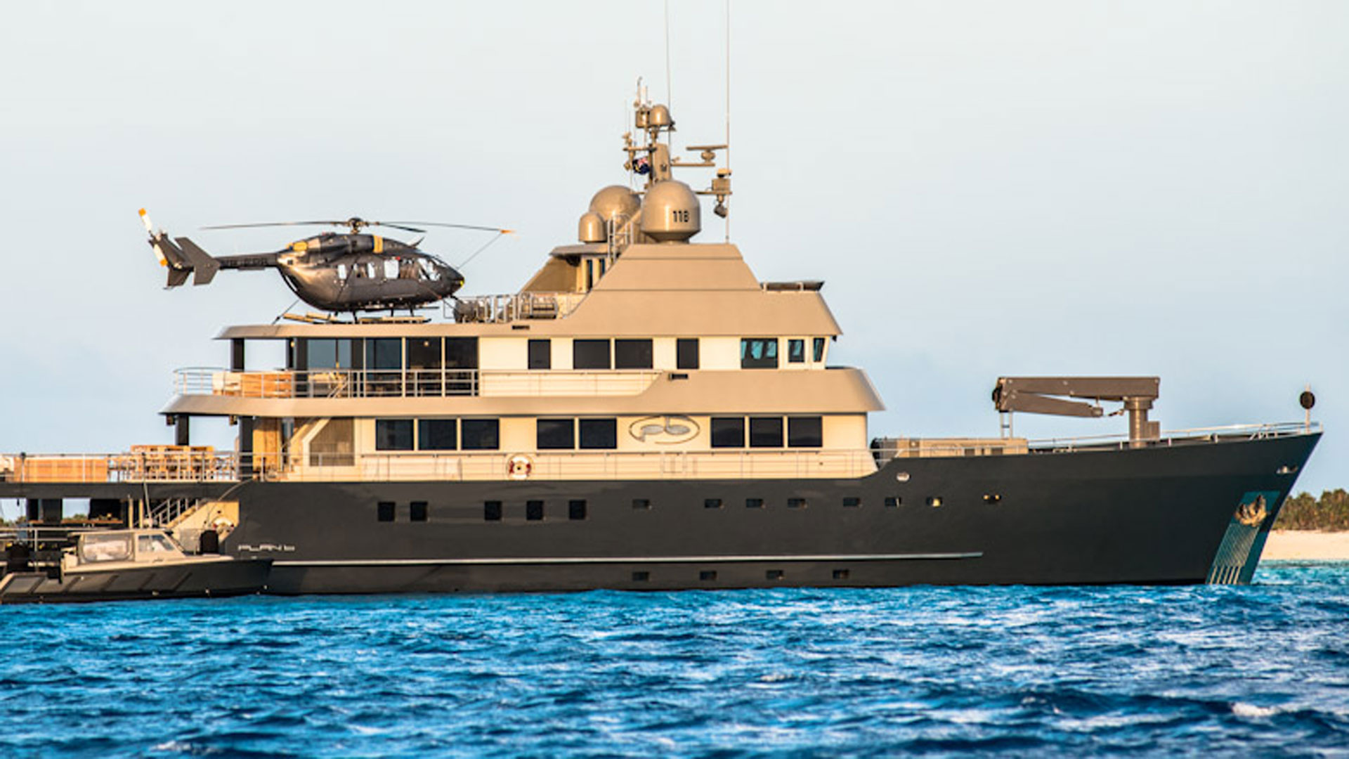 Helicopter, Plan B Luxury Superyacht
