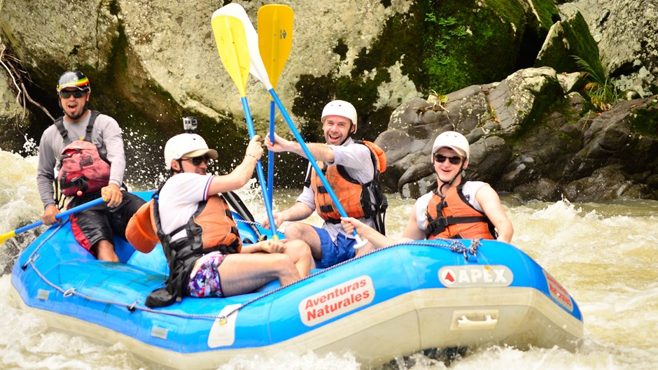 Costa Rica Trip Report - White Water Rafting