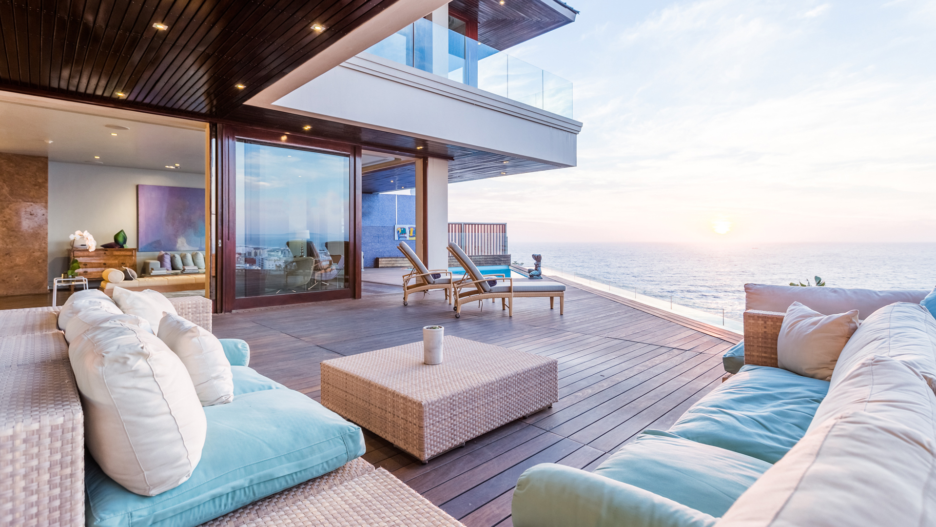 Ellerman House South Africa Bedroom Terrace 2
