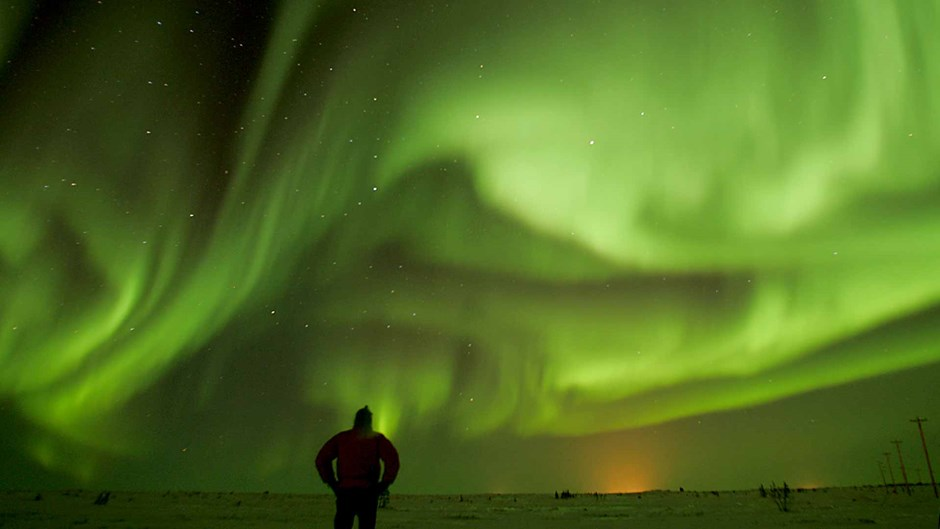Northern lights, Arctic Canada safari
