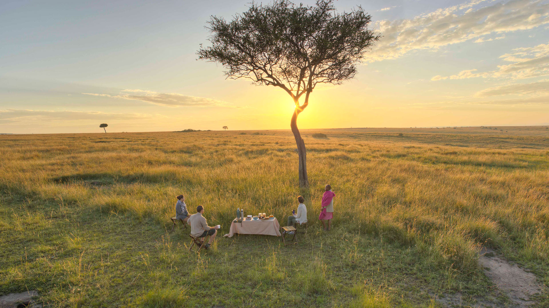 Breakfast in the Masai Mara, Kenya | © Rekero Camp