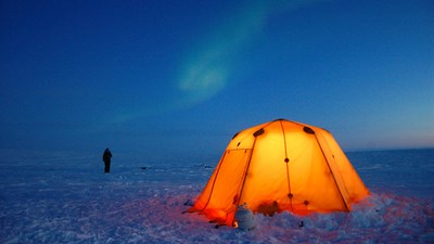 Tented Safari Camp, Arctic Canada