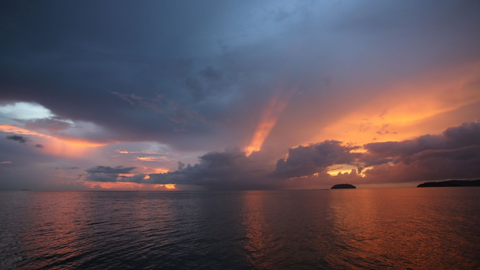 Sunset, Borneo