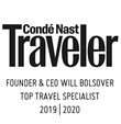 conde nast traveler 2019 and 2020