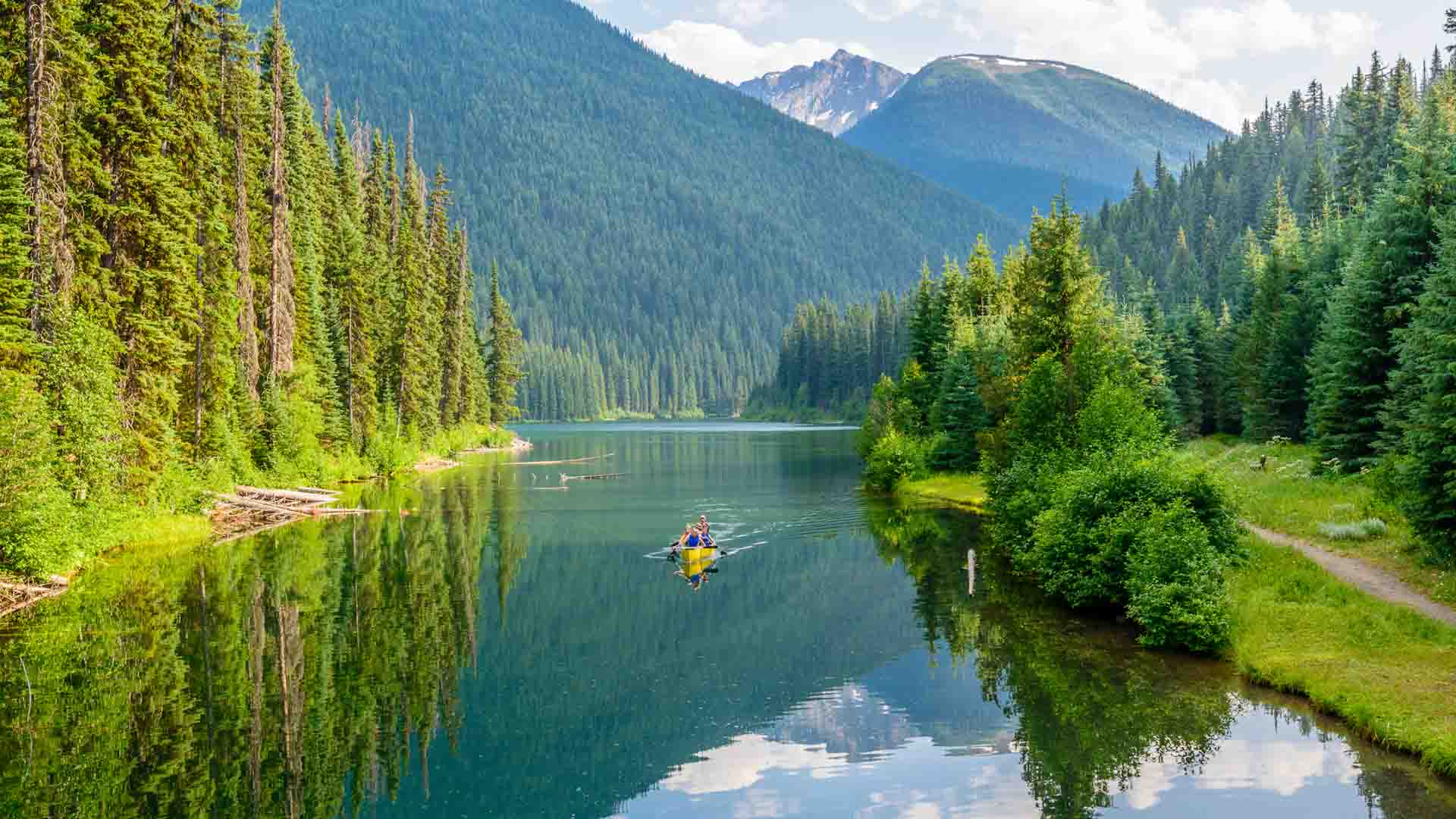 Kayaking in British Columbia, Canada