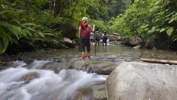 River walking, Costa Rica