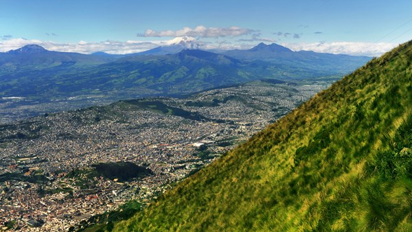 View in Quito, Ecuador