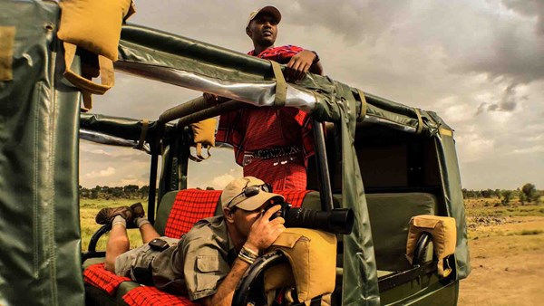 Kenya safari: wildlife photography
