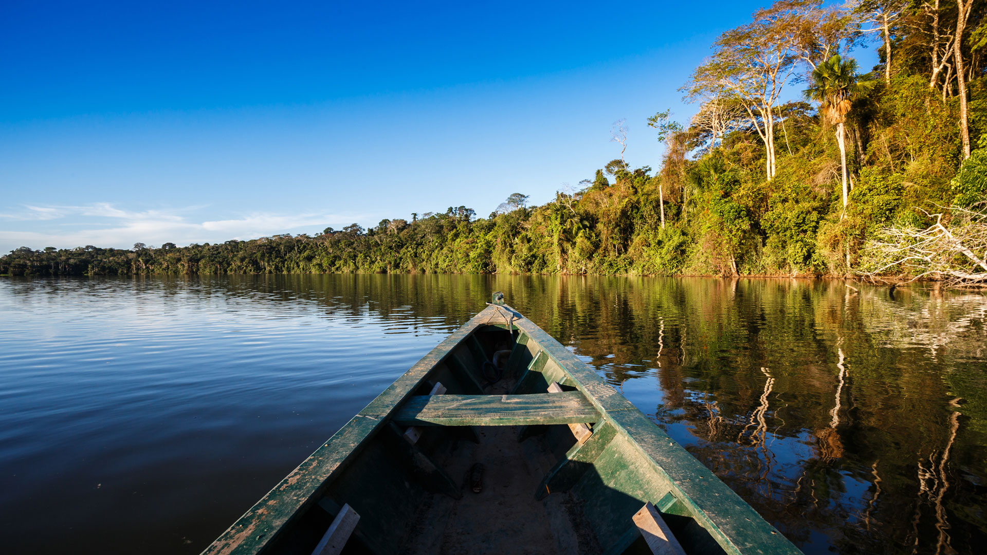 Exploring the Amazon, Peru