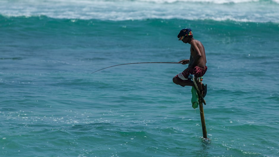 Fisherman, Sri Lanka