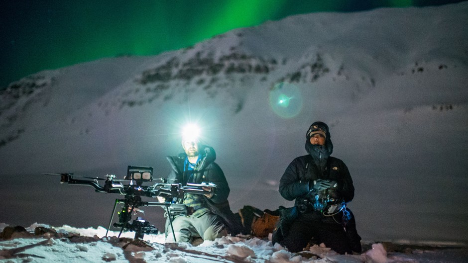 Renan Ozturk and Taylor Rees