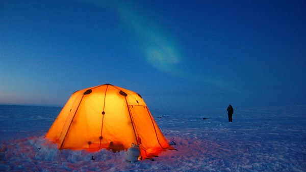 Arctic Tented Camp Northern Lights