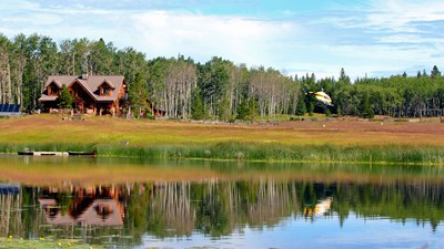 Siwash Lake Ranch, Canada