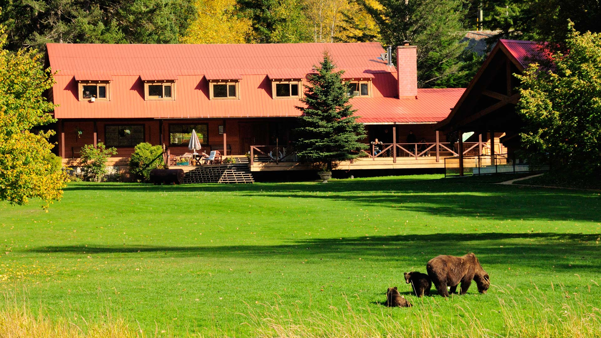Tweedsmuir Park Lodge, Canada