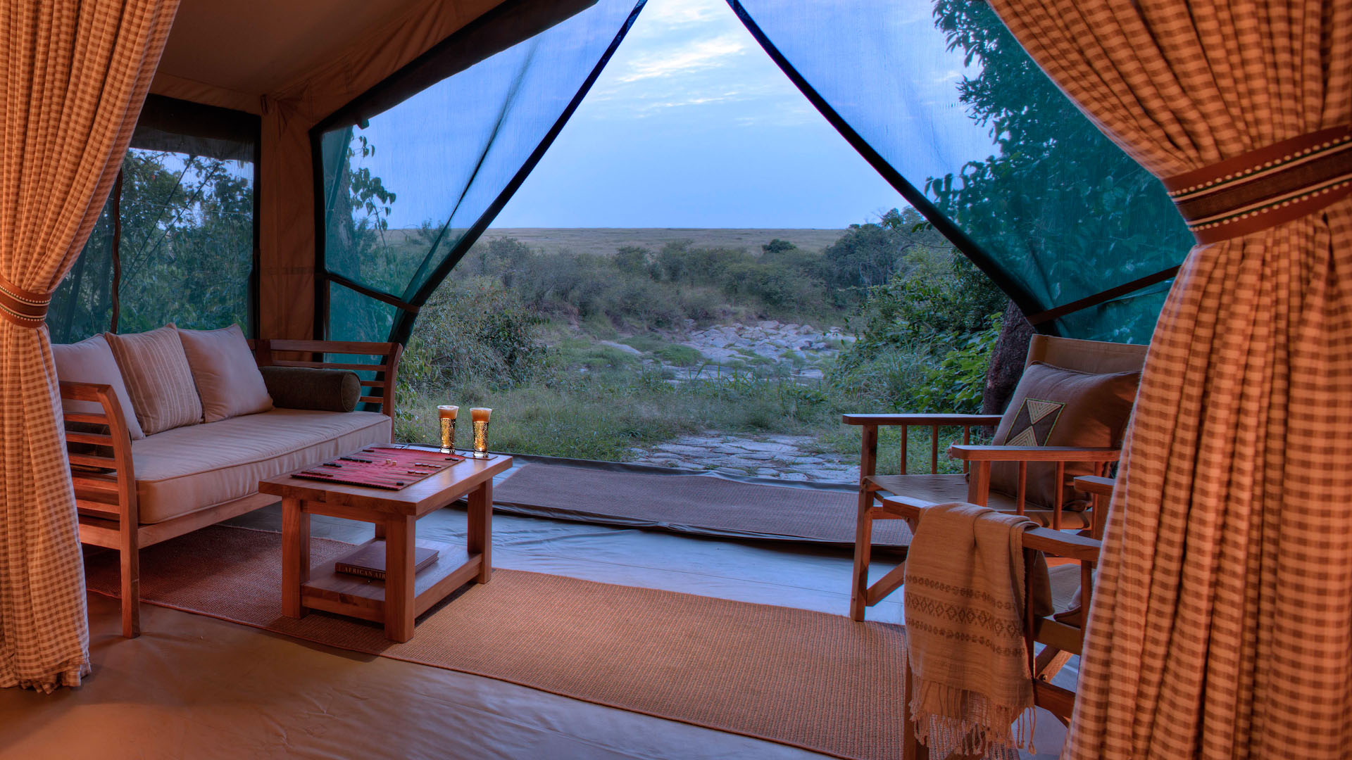 Rekero Camp, Kenya