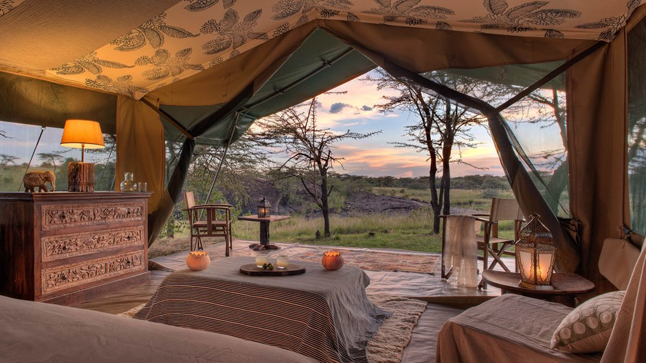kenya richards river camp luxury private tent 1
