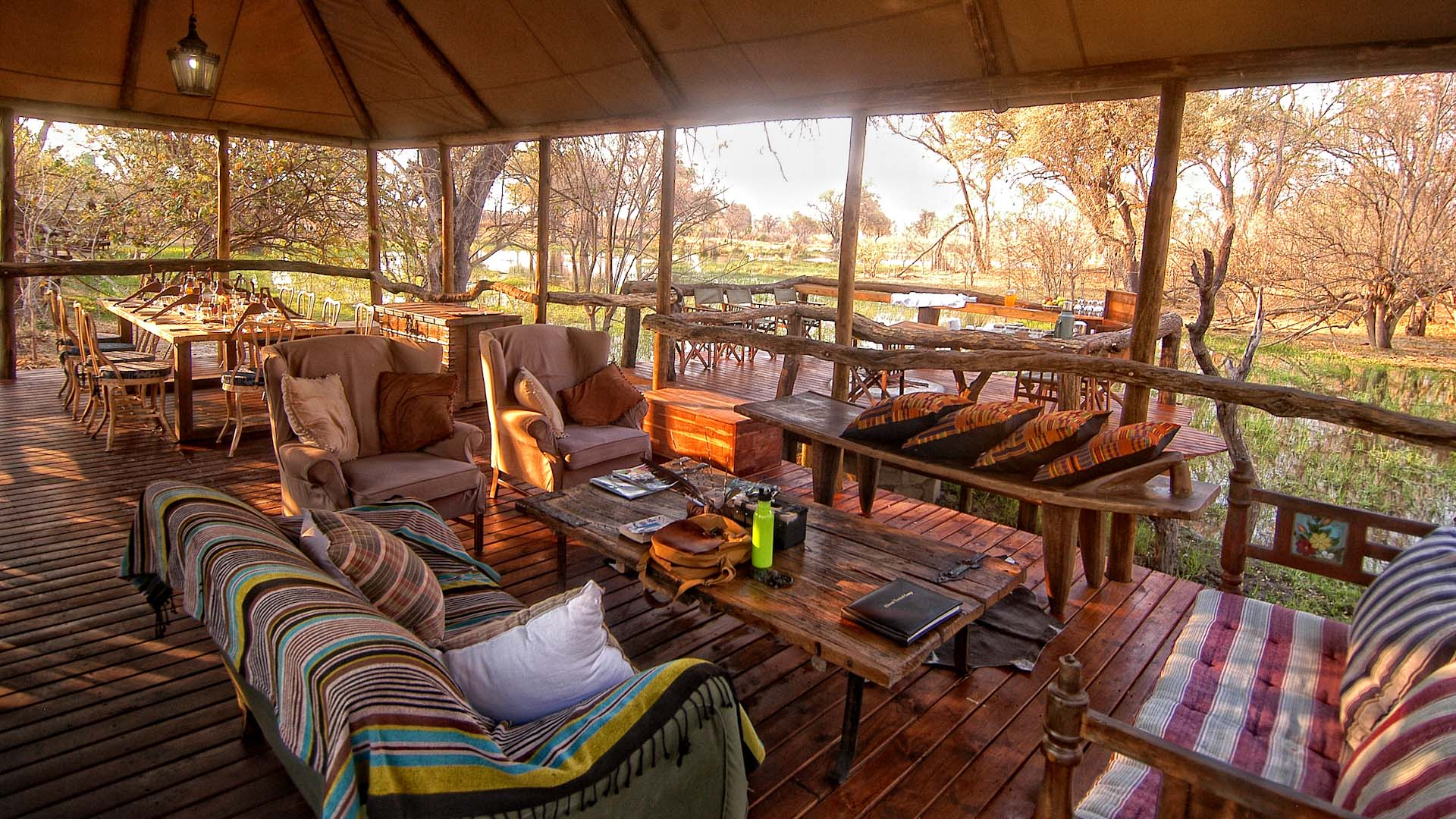 Khwai Tented C& & Top 10 Best Botswana Safari Camps - Natural World Safaris